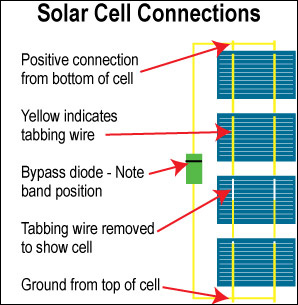 solar cell connection diagram pdf